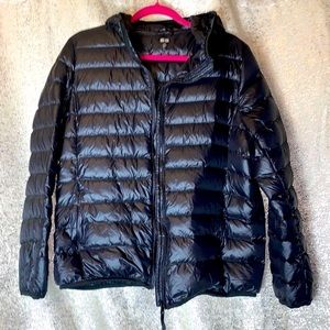 SNIYKU Black bubble Puff coat storage bag XXXL
